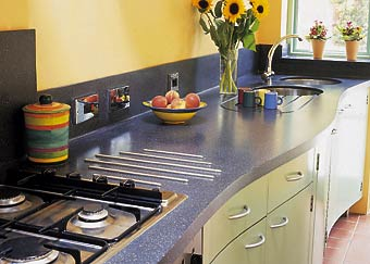 Corian Custom Countertop Fabrication By Solid Solutions